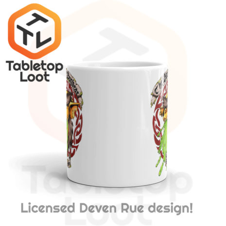 Tabletop Loot - Barfing Bugbear Mug by Deven Rue 11 oz -3