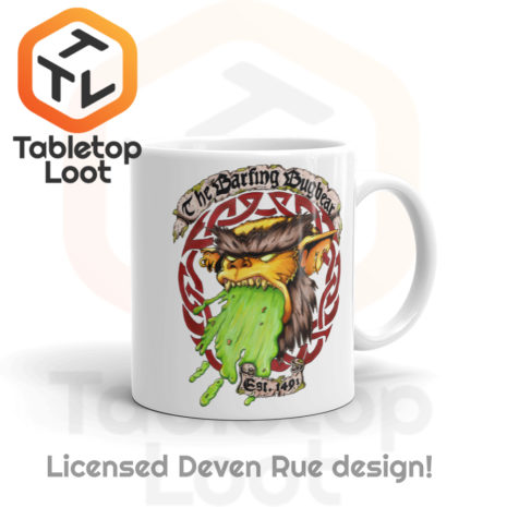 Tabletop Loot - Barfing Bugbear Mug by Deven Rue 11oz