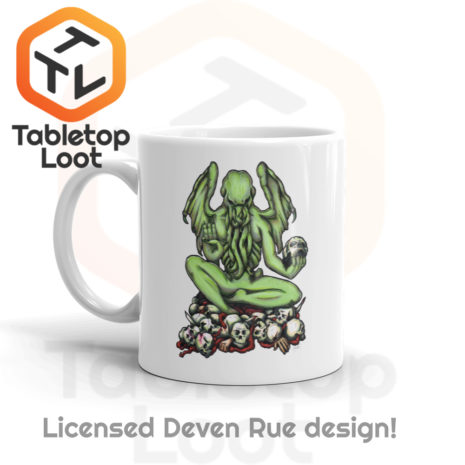 Tabletop Loot- Buddhathulu by Deven Rue-Left-11oz