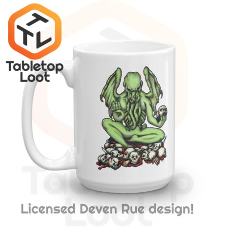 Tabletop Loot- Buddhathulu by Deven Rue-Left-15oz