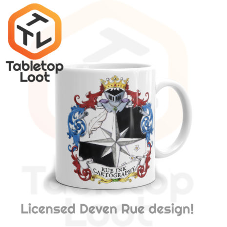 Tabletop Loot - Rue Ink Heraldry Mug 11 oz