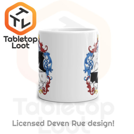 Tabletop Loot - Rue Ink Heraldry Mug 11oz -3