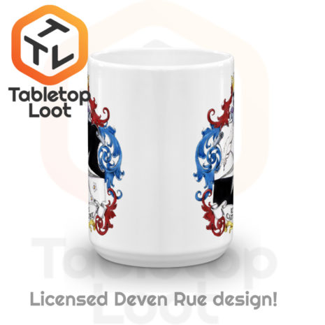 Tabletop Loot - Rue Ink Heraldry Mug 15 oz -3