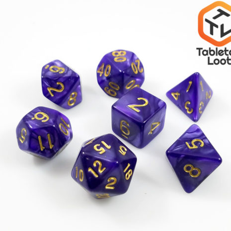 Tabletop Loot - Guilded Violet