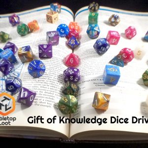 The Gift of Knowledge – Dice Donation