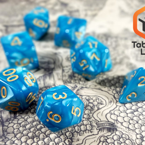 Tabletop Loot- Guilded Turquoise