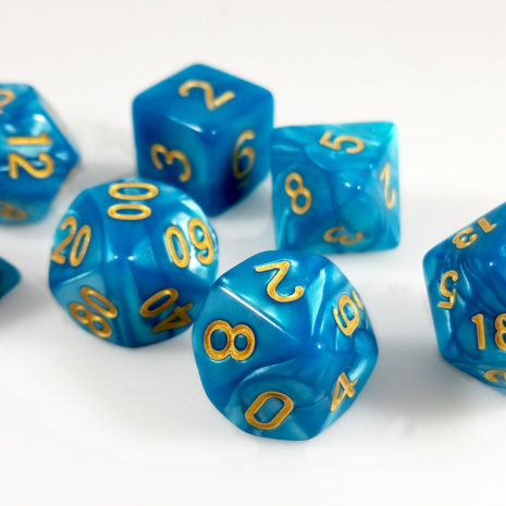 Tabletop Loot- Guilded Turquoise3