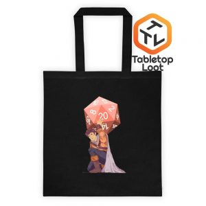 Titan's Trial Tote Bag