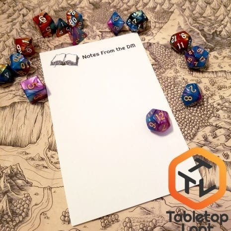 Tabletop Loot - Notes from the DM4