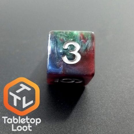 Tabletop Loot - Marbled Dice 1