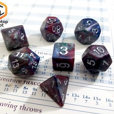 Tabletop Loot - Marbled Dice 2