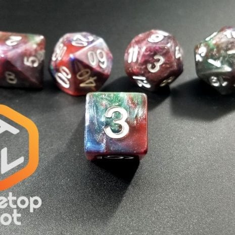 Tabletop Loot - Marbled Dice 3
