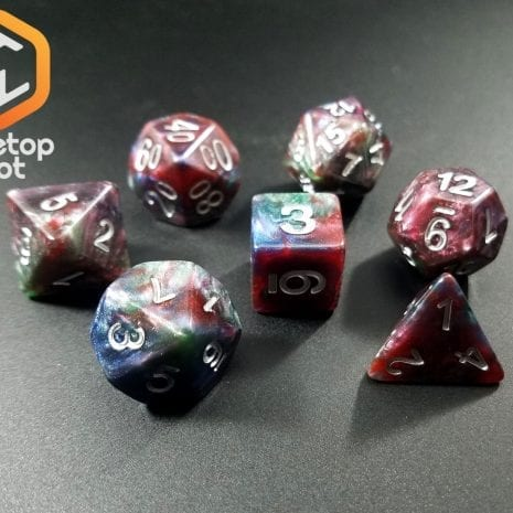 Tabletop Loot - Marbled Dice 4