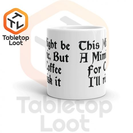 Tabletop Loot-Mimic Mug-Coffee-11oz-Front