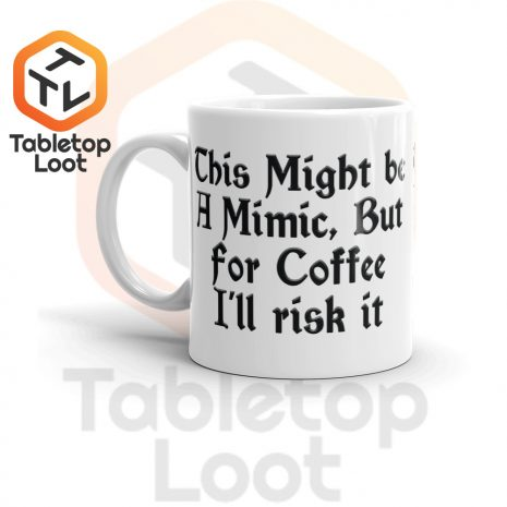 Tabletop Loot-Mimic Mug-Coffee-11oz-Left