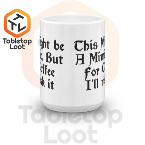 Tabletop Loot-Mimic Mug-Coffee-15oz-Front
