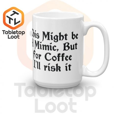 Tabletop Loot-Mimic Mug-Coffee-15oz-Right