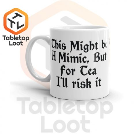 Tabletop Loot-Mimic Mug-Tea-11oz-Left