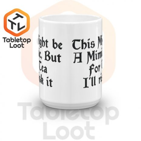 Tabletop Loot-Mimic Mug-Tea-15oz-Front