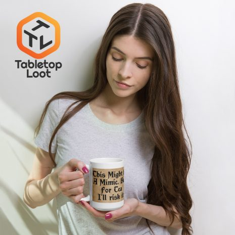 Tabletop Loot-Mimic Mug-Tea-Aged-15oz
