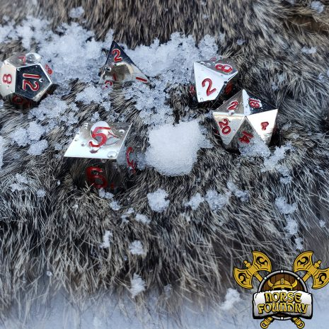 Tabletop Loot - Norse Foundry - Lycanthrope - Metal Dice