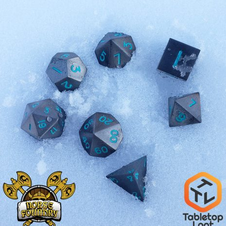 Tabletop Loot - Norse Foundry - Spellbound - Metal Dice