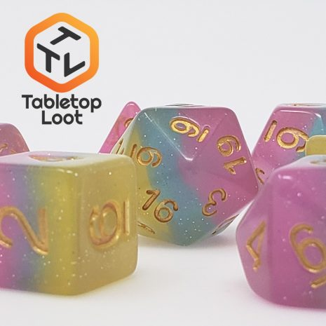 Tabletop Loot _ Candyland 3 -dice-set-dice-dnd-dice-dd-dice-tabletop-dice-dungeons-and-dragons