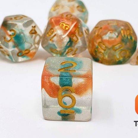 Tabletop Loot _ Luminous Koi 3-dice-set-dice-dnd-dice-dd-dice-tabletop-dice-dungeons-and-dragons