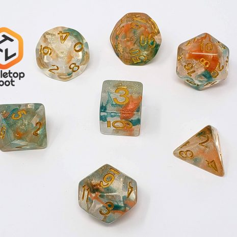 Tabletop Loot _ Luminous Koi-dice-set-dice-dnd-dice-dd-dice-tabletop-dice-dungeons-and-dragons