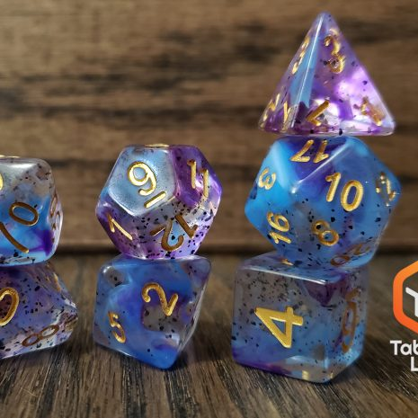 Tabletop Loot _ Violet Sulfer 2 -dice-set-dice-dnd-dice-dd-dice-tabletop-dice-dungeons-and-dragons