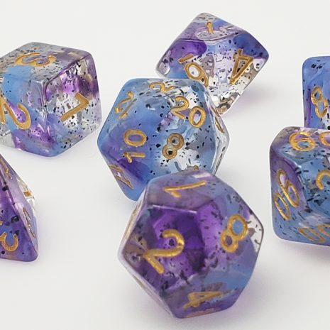 Tabletop Loot _ Violet Sulfer 6 -dice-set-dice-dnd-dice-dd-dice-tabletop-dice-dungeons-and-dragons