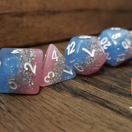 Tabletop Loot _ Bluestar Streak 2 -dice-set-dice-dnd-dice-dd-dice-tabletop-dice-dungeons-and-dragons