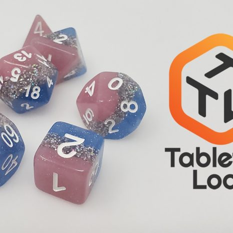 Tabletop Loot _ Bluestar Streak 3 -dice-set-dice-dnd-dice-dd-dice-tabletop-dice-dungeons-and-dragons