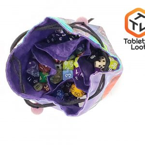 Deven Rue Galaxy Art Cloth Dice Bag