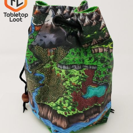 Tabletop Loot _ Deven Rue Map Dice Bag 3 -dice-set-dice-dnd-dice-dd-dice-tabletop-dice-dungeons-and-dragons-dice bag-dice pouch