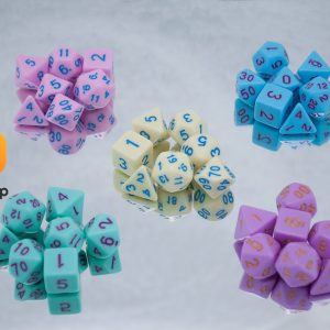 Conversation Heart Dice